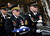 A U.S. Army Honor Guard soldier (R) carries the cremated remains of U.S. Four Star General H. Norman Schwarzkopf to his burial service at the United States Military Academy at West Point, New York, February 28, 2013. REUTERS/Mike Segar