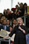 U.S. Secretary of State Hillary Clinton delivers her farewell address to the staff in the C Street lobby of the State Department on February 1, 2013 in Washington, DC. With a strong record in exerting what she called 