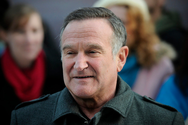 US actor Robin Williams arrives for the European premiere of