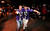 Baltimore Ravens fans celebrate outside the Superdome following Baltimore's victory over the San Francisco 49ers in the NFL Super Bowl XLVII football game in New Orleans, Louisiana, February 3, 2013.  REUTERS/Stacy Revere