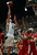 Fort COLLINS, CO. - FEBRUARY 23: Colorado State Colton Iverson drives to the basket during first half action at Moby Arena in Fort Collin, CO February  24, 2013. The Colorado State Rams lost to the New Mexico Lobos 91-82. (Photo By Craig F. Walker/The Denver Post)