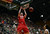 Fort COLLINS, CO. - FEBRUARY 23: New Mexico Alex Kirk dunks the ball during first half action at Moby Arena in Fort Collin, CO February  24, 2013. The Colorado State Rams lost to the New Mexico Lobos 91-82. (Photo By Craig F. Walker/The Denver Post)