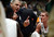 Fort COLLINS, CO. - FEBRUARY 23: CSU coach Larry Eustachy talks with his team during the second half at Moby Arena in Fort Collin, CO February  24, 2013. The Colorado State Rams mens basketball team lost to the New Mexico Lobos, 82-91. (Photo By Craig F. Walker/The Denver Post)
