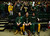 Fort COLLINS, CO. - FEBRUARY 23: CSU students Ben Saccomano and his brother San and Chris Albright remain in their seats following the their teams loss to New Mexico at Moby Arena in Fort Collin, CO February  24, 2013. The Colorado State Rams mens basketball team lost to the New Mexico Lobos, 82-91. (Photo By Craig F. Walker/The Denver Post)