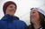 VAIL, CO. - MARCH 1: Taylor Gold, 17, left, and his sister Arielle Gold, 16, of Steamboat Springs are in Vail for Burton U.S. Open. March 1, 2013. Vail, Colorado. (Photo By Hyoung Chang/The Denver Post)