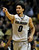 Colorado guard Askia Booker celebrates after hitting a three-point basket against California in the first half of an NCAA basketball game in Boulder, Colo., Sunday, Jan. 27, 2013. (AP Photo/David Zalubowski)