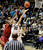 University of Colorado's Arielle Roberson goes for a lay-up under the hands of Chiney Ogwumike during a game against Stanford on Friday, Jan. 4, at the Coors Event Center on the CU campus in Boulder.    Jeremy Papasso/Camera