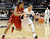 University of Colorado's Chucky Jeffery dribbles past Amber Orrange during a game against Stanford on Friday, Jan. 4, at the Coors Event Center on the CU campus in Boulder.    Jeremy Papasso/Camera