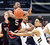 Askia Booker, right, of Colorado, knocks the ball from Jarrod DuBois of Utahduring the first half of the February 21st, 2013 game in Boulder.