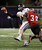 East Carolina quarterback Shane Carden (5) is sacked by Louisiana-Lafayette linebacker Trae Johnson (38) in second half of the New Orleans Bowl, an NCAA college football game in New Orleans, Saturday, Dec. 22, 2012. Louisiana-Lafayette beat East Carolina 43-34.(AP Photo/Dave Martin)