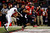 Terrance Broadway #8 of the Louisiana-Lafayette Ragin Cajuns scores a touchdown over Chip Thompson #1 of the East Carolina Pirates during the R+L Carriers New Orleans Bowl at the Mercedes-Benz Superdome on December 22, 2012 in New Orleans, Louisiana.  (Photo by Chris Graythen/Getty Images)
