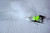 ASPEN, CO - January 26: Bobby Brown slides down the hill during the men's Ski Big Air Finals after wiping out at Winter X Games Aspen 2013 at Buttermilk Mountain on Jan. 26, 2013, in Aspen, Colorado. Brown, last year's gold medalist, finished fourth. (Photo by Daniel Petty/The Denver Post)