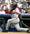 JULIO FRANCO -- Atlanta Braves' Julio Franco watches his three-run homer leave the park during the sixth inning against the Philadelphia Phillies on July 11, 2004, in Philadelphia.    (AP Photo/H. Rumph Jr.)