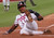 FRED McGRIFF -- Atlanta Braves Fred McGriff is all alone as he slides home to score on a second inning sacrifice fly by Jermaine Dye in Game 6 of the National League Championship Series against the St. Louis Cardinals in Atlanta on Oct. 16, 1996. (AP Photo/John Bazemore)