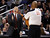 Los Angeles Lakers head coach Mike D'Antoni reacts to a call against the Toronto Raptors during the first half of their NBA basketball game in Toronto, January 20, 2013.     REUTERS/Mark Blinch