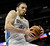 Denver Nuggets' Kosta Koufos (41) grabs a rebound during the fourth quarter of an NBA basketball game against the Cleveland Cavaliers Friday, Jan. 11, 2013, in Denver. The Nuggets won 98-91 (AP Photo/Barry Gutierrez)