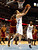Kosta Koufos #41 of the Denver Nuggets draws contact as he attempts a shot against Tristan Thompson #13 of the Cleveland Cavaliers at Pepsi Center on January 11, 2013 in Denver, Colorado. (Photo by Chris Chambers/Getty Images)