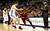 Kyrie Irving #2 of the Cleveland Cavaliers drives against Danilo Gallinari #8 of the Denver Nuggets at Pepsi Center on January 11, 2013 in Denver, Colorado. (Photo by Chris Chambers/Getty Images)