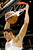 Denver Nuggets' Danilo Gallinari slams one down during the first quarter of an NBA basketball game against the Cleveland Cavaliers Friday, Jan. 11, 2013, in Denver. (AP Photo/Barry Gutierrez)
