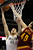 Denver Nuggets's Kosta Koufos (41) heads to the basket against Cleveland Cavaliers' Tyler Zeller (40) during the first quarter of an NBA basketball game Friday, Jan. 11, 2013, in Denver. Koufos scored a career high of 21 points helping the Nuggets win 98-91. (AP Photo/Barry Gutierrez)