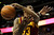 Cleveland Cavaliers' Alonzo Gee (33) goes up for a rebound during the fourth quarter of an NBA basketball game against the Denver Nuggets Friday, Jan. 11, 2013, in Denver. The Nuggets won 98-91 (AP Photo/Barry Gutierrez)