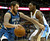 Wolves forward Kevin Love (42) worked against Kenneth Faried (35) in the first half. The Minnesota Timberwolves took a bite out of the Denver Nuggets winning 101-97 at the Pepsi Center Thursday night, January 3, 2013. Karl Gehring/The Denver Post