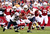 Wide receiver Larry Fitzgerald #11 of the Arizona Cardinals runs with the football after a reception against the Chicago Bears during the NFL game at the University of Phoenix Stadium on December 23, 2012 in Glendale, Arizona. The Bears defeated the Cardinals 28-13.  (Photo by Christian Petersen/Getty Images)
