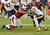 Paris Lenon #51 of the Arizona Cardinals tackles Brandon Marshall #15 of the Chicago Bears at University of Phoenix Stadium on December 23, 2012 in Glendale, Arizona. Bears won 28-13.  (Photo by Norm Hall/Getty Images)
