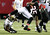 ATLANTA, GA - NOVEMBER 29:  William Moore #25 of the Atlanta Falcons returns an interception against the New Orleans Saints at Georgia Dome on November 29, 2012 in Atlanta, Georgia.  (Photo by Kevin C. Cox/Getty Images)