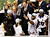 Ray Lewis #52 of the Baltimore Ravens celebrates with the VInce Lombardi trophy after the Ravens won 34-31 against the San Francisco 49ers during Super Bowl XLVII at the Mercedes-Benz Superdome on February 3, 2013 in New Orleans, Louisiana.  (Photo by Rob Carr/Getty Images)