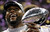 Baltimore Ravens linebacker Ray Lewis (52) holds the Vince Lombardi Trophy after defeating the San Francisco 49ers 34-31 in the NFL Super Bowl XLVII football game, Sunday, Feb. 3, 2013, in New Orleans. (AP Photo/Matt Slocum)