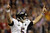 Baltimore Ravens quarterback Joe Flacco (5) reacts to a 13-yard touchdown pass caught by wide receiver Anquan Boldin (81) against the San Francisco 49ers in the first quarter of the NFL Super Bowl XLVII football game, Sunday, Feb. 3, 2013, in New Orleans. (AP Photo/Patrick Semansky)