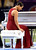 Musician Alicia Keys bows after singing the National Anthem prior to the start of Super Bowl XLVII between the Baltimore Ravens and the San Francisco 49ers at the Mercedes-Benz Superdome on February 3, 2013 in New Orleans, Louisiana.  (Photo by Jamie Squire/Getty Images)