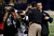 San Francisco 49ers head coach Jim Harbaugh, left, embraces his brother Baltimore Ravens head coach John Harbaugh before the NFL Super Bowl XLVII football game, Sunday, Feb. 3, 2013, in New Orleans. (AP Photo/Bill Haber)
