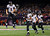 Baltimore Ravens quarterback Joe Flacco (5) celebrates with his teammates after his second touchdown pass of the game against the San Francisco 49ers during the second quarter of the NFL Super Bowl XLVII football game in New Orleans, Louisiana, February 3, 2013. REUTERS/Brian Snyder
