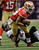 Baltimore Ravens cornerback Corey Graham (24) pulls down San Francisco 49ers running back LaMichael James (23) in the second quarter of the NFL Super Bowl XLVII football game, Sunday, Feb. 3, 2013, in New Orleans. (AP Photo/Dave Martin)