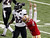 San Francisco 49ers kicker David Akers (2) celebrates after kicking a field goal as Baltimore Ravens defensive back Chykie Brown (23) looks on in the first quarter of the NFL Super Bowl XLVII football game in New Orleans, Louisiana, February 3, 2013 REUTERS/Jonathan Bachman
