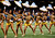 Cheerleaders dance before the San Francisco 49ers play the Baltimore Ravens in the NFL Super Bowl XLVII football game in New Orleans, Louisiana, February 3, 2013.  REUTERS/Jim Young