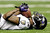 Jacoby Jones #12 of the Baltimore Ravens catches a 56-yard pass before running in for the touchdown in the second quarter against the San Francisco 49ers during Super Bowl XLVII at the Mercedes-Benz Superdome on February 3, 2013 in New Orleans, Louisiana.  (Photo by Ezra Shaw/Getty Images)