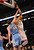 Dwight Howard #12 of the Los Angeles Lakers shoots over Kosta Koufos #41 of the Denver Nuggets at Staples Center on January 6, 2013 in Los Angeles, California.   (Photo by Stephen Dunn/Getty Images)