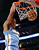 Denver Nuggets' Andre Iguodala dunks the ball against the Los Angeles Lakers during the first half of their NBA basketball game in Los Angeles January 6, 2013. REUTERS/Danny Moloshok