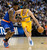 Danilo Gallinari (8) of the Denver Nuggets drives on Iman Shumpert (21) of the New York Knicks during the first qurter March 13,  2013 at Pepsi Center. (Photo By John Leyba/The Denver Post)