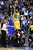 Denver Nuggets player Wilson Chandler is defended by the New York Knicks' Carmelo Anthony during the first half of action. The Denver Nuggets take on the New York Knicks. (Photo by AAron Ontiveroz/The Denver Post)