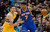 Carmelo Anthony (7) of the New York Knicks works against Danilo Gallinari (8) of the Denver Nuggets during the first quarter March 13, 2013 at Pepsi Center. (Photo By John Leyba/The Denver Post)