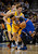 Danilo Gallinari (8) of the Denver Nuggets guards Carmelo Anthony (7) of the New York Knicks during the first quarter March 13, 2013 at Pepsi Center. (Photo By John Leyba/The Denver Post)