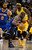 Raymond Felton (2) of the New York Knicks drives on Ty Lawson (3) of the Denver Nuggets during the second quarter March 13,  2013 at Pepsi Center. (Photo By John Leyba/The Denver Post)