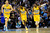 DENVER, CO - MARCH 13: Kenneth Faried (35) of the Denver Nuggets runs back up court after dunking against the New York Knicks during the first half of action. The Denver Nuggets play the New York Knicks at the Pepsi Center. (Photo by AAron Ontiveroz/The Denver Post)