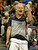John McEnroe reacted jubilantly after scoring against opponent Jim Courier Thursday night. McEnroe won his initial match 6-4. McEnroe faced Jim Courier in an exhibition match at the Pepsi Center Thursday night, November 29, 2012. McEnroe is ranked second behind Courier in the 2012 PowerShares Series tour. Karl Gehring/ The Denver Post