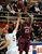 GREENWOOD VILLAGE, CO. - FEBRUARY 13: Cherokee Trail's Anthony Murray shoots a jump shot in the first half Wednesday night at Cherry Creek High School. (Photo by Steve Nehf, The Denver Post)