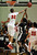 DENVER, CO. - FEBRUARY 02: Tyre Robinson of East High School #32 blocks the shot of Malik Hart of Montbello High School #15 on February 2, 2013 at Manual High School in Denver, Colorado. East won 66-37. (Photo By Hyoung Chang/The Denver Post)